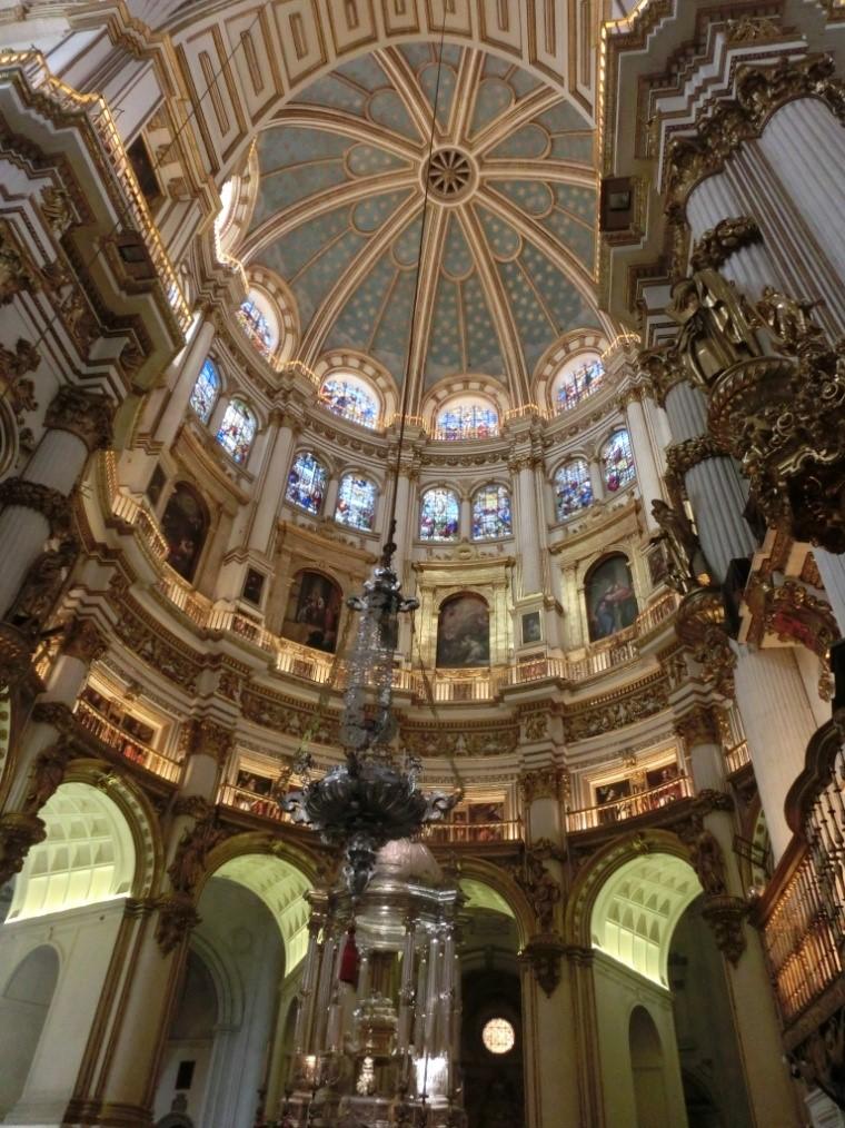 カテドラル(グラナダ大聖堂)のステンドグラス