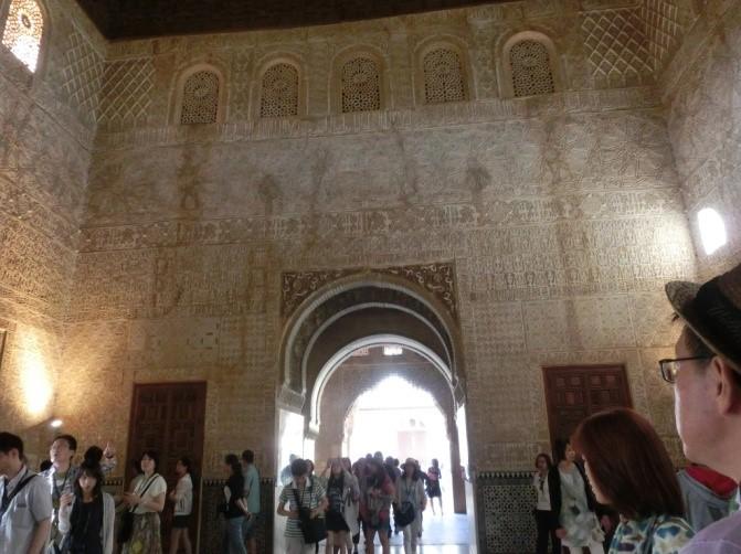 アルハンブラ宮殿の大使の間