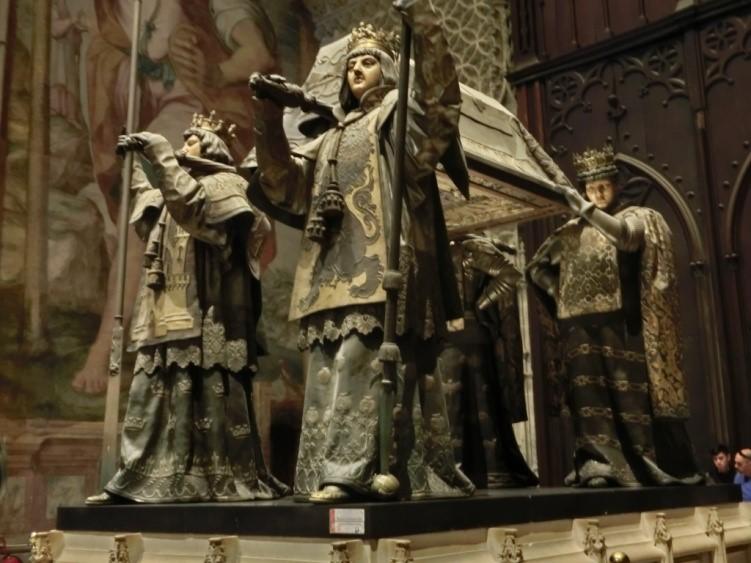 カテドラル(セビリア大聖堂)のコロンブスの墓