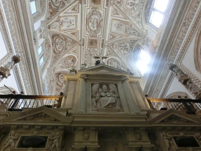 コルドバのメスキータのキリスト教の装飾