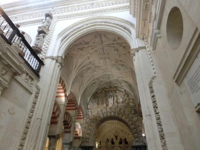 コルドバのメスキータ内部の装飾