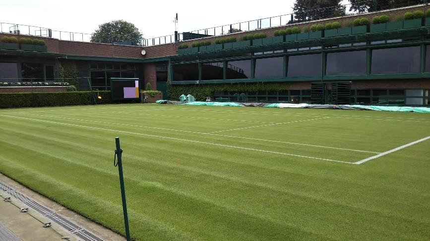 ウィンブルドン(Wimbledon)の18番コート