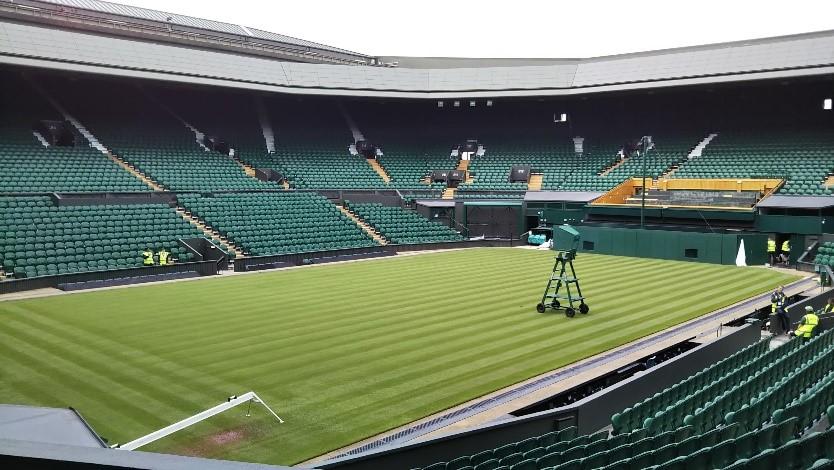 ウィンブルドン(Wimbledon)のセンターコート