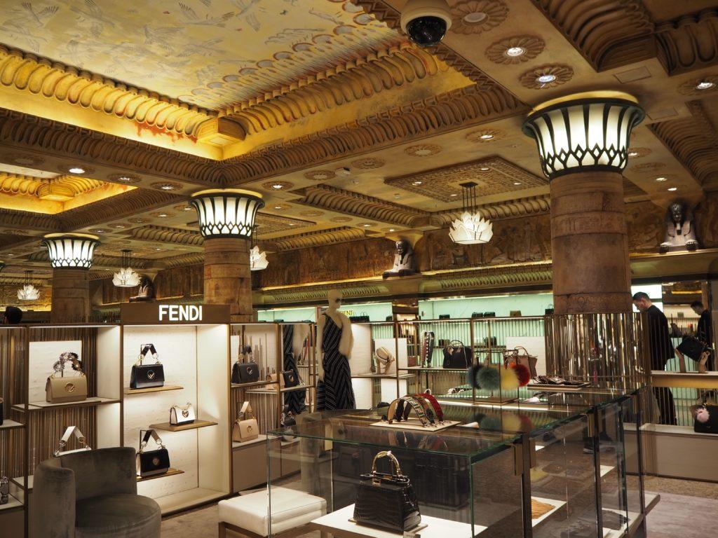 ロンドンのハロッズ(Harrods)、Ground Floor(1階)店内