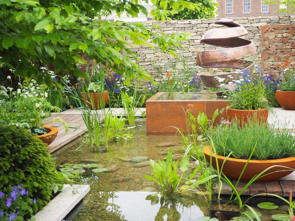 チェルシー・フラワーショー(Chelsea Flower Show)のNew West End Garden