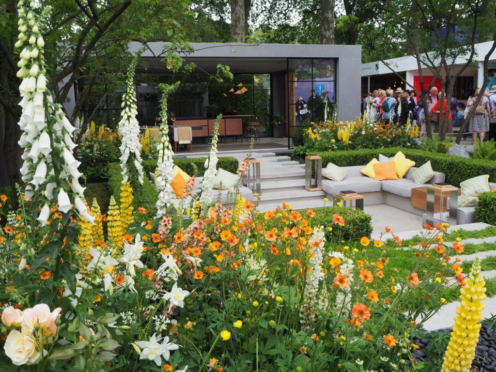 チェルシー・フラワーショー(Chelsea Flower Show)のLG ECO-City