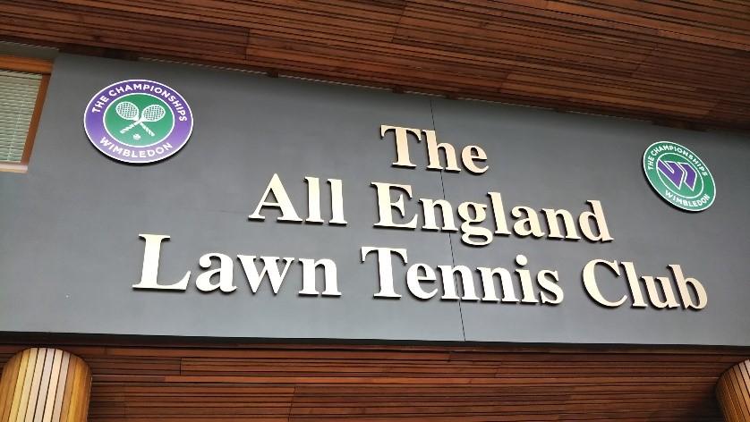 ウィンブルドン(Wimbledon)のThe All England Lawn Tennis Club