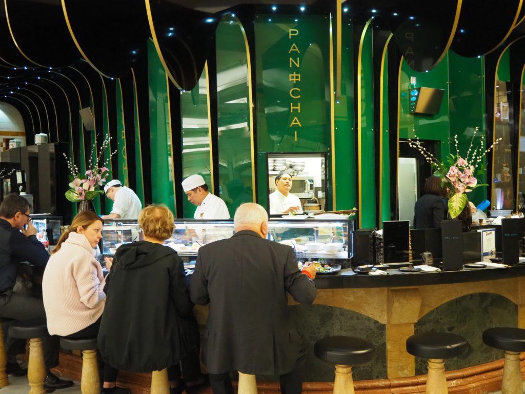 ロンドンのハロッズ(Harrods)の寿司バー
