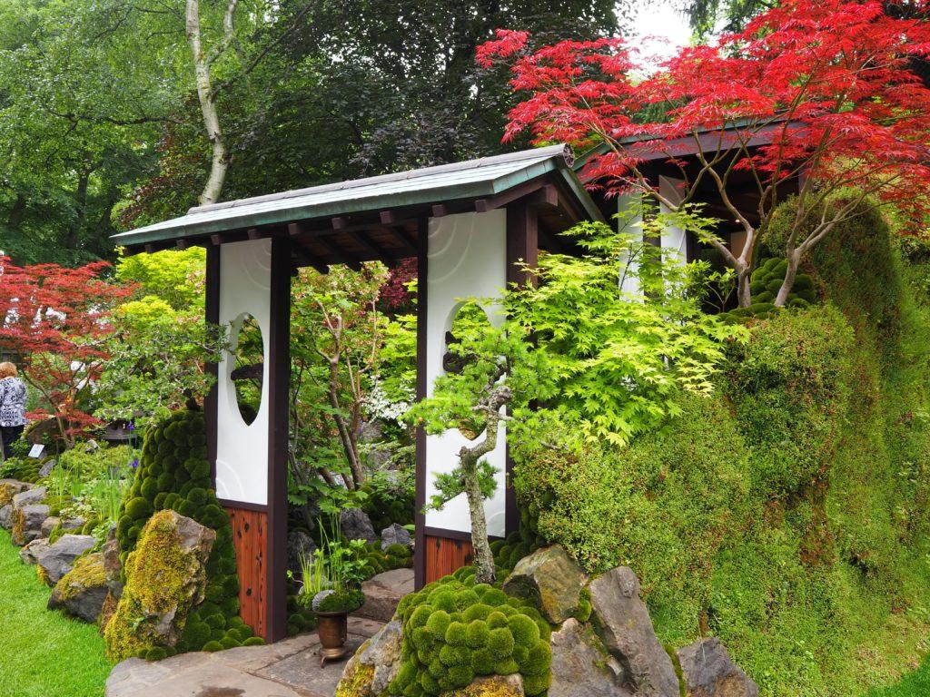 チェルシー・フラワーショー(Chelsea Flower Show)の石原和幸さんの日本庭園(Omotenashi)