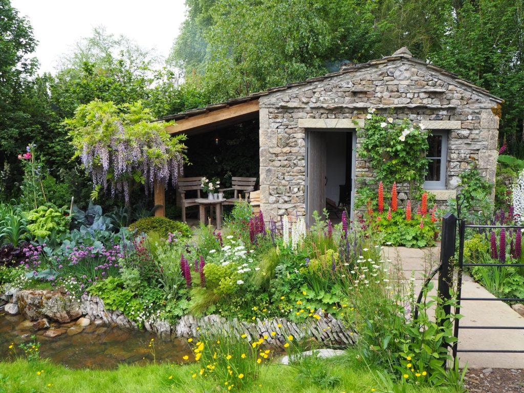 チェルシー・フラワーショーのWelcome to Yorkshire(ヨークシャーの庭園)
