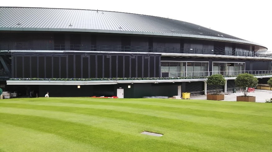 ウィンブルドン(Wimbledon)の観戦用スクリーン