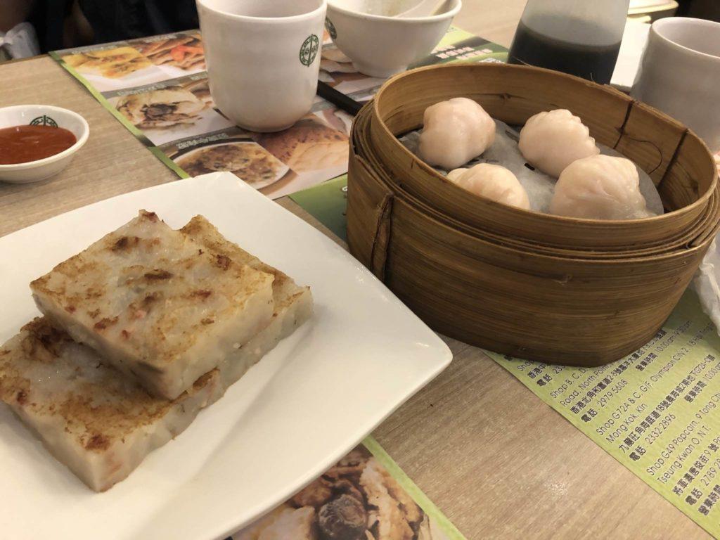 香港のTim Ho Wan 添好運の点心