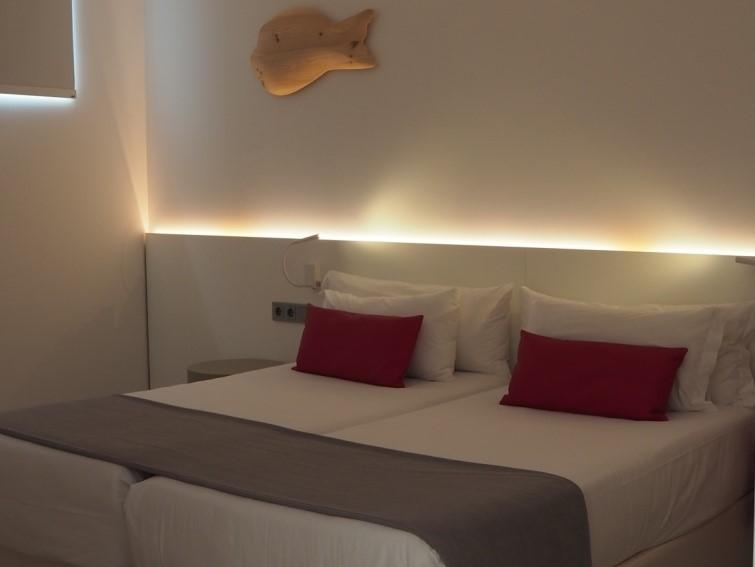イビサ島の五つ星ホテル、ワン・イビサ・ビーチ・スイート(One Ibiza Beach Suites)の客室
