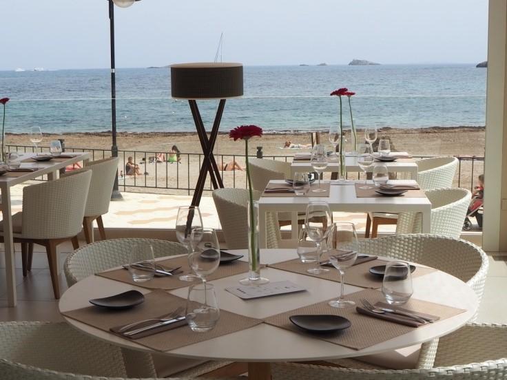 イビサ島の五つ星ホテル、ワン・イビサ・ビーチ・スイート(One Ibiza Beach Suites)のレストラン