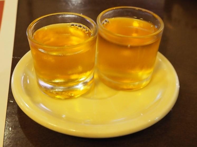 イビサタウンのエル・サグアン(El Zaguan)の食後酒