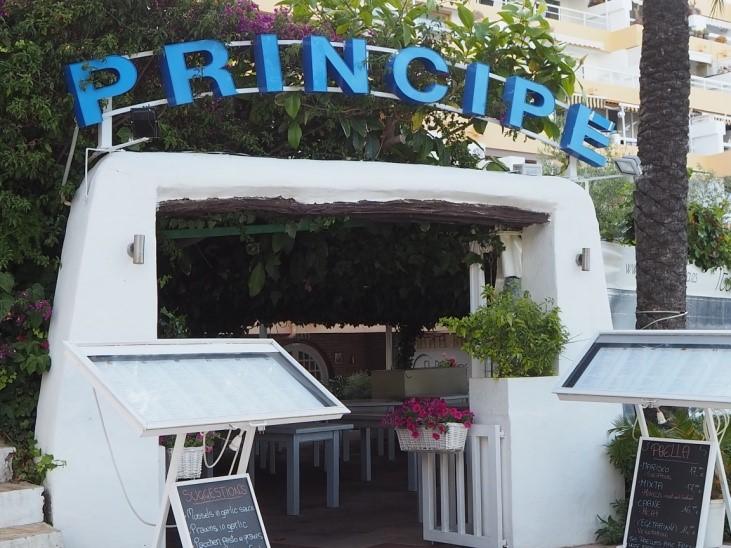イビサタウンのプリンチペ(Principe)の外観