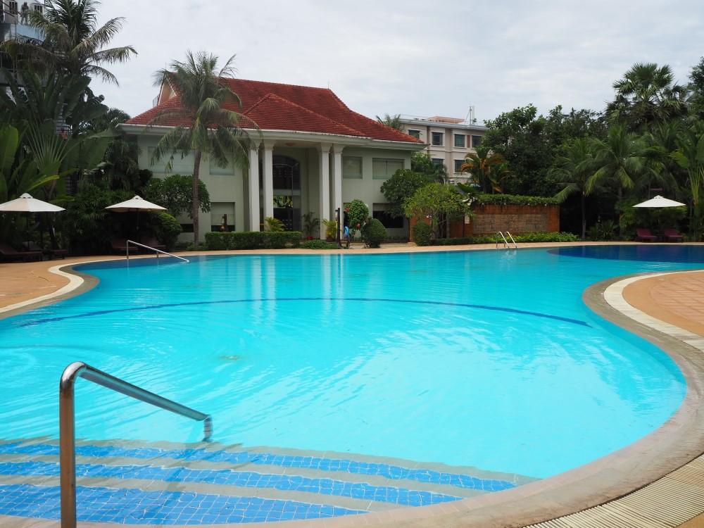 アンコール センチュリー リゾート & スパ(Angkor Century Resort & Spa)のスパ建物