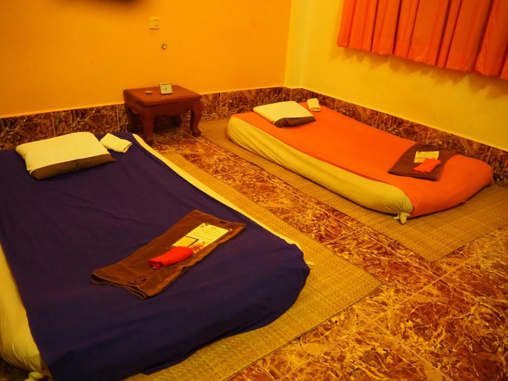 シェムリアップのチャイ・マッサージ(Chai Massage)の個室