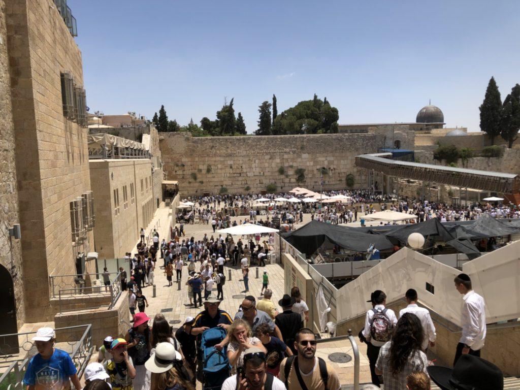 聖地エルサレムの嘆きの壁