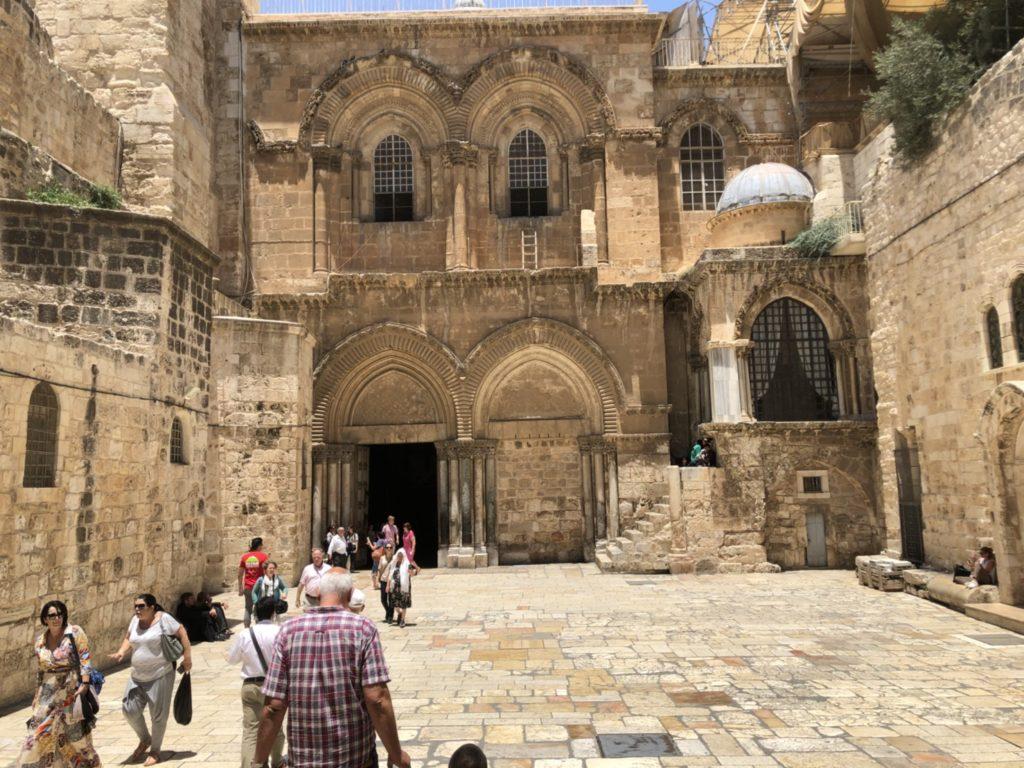 聖地エルサレムの聖墳墓教会