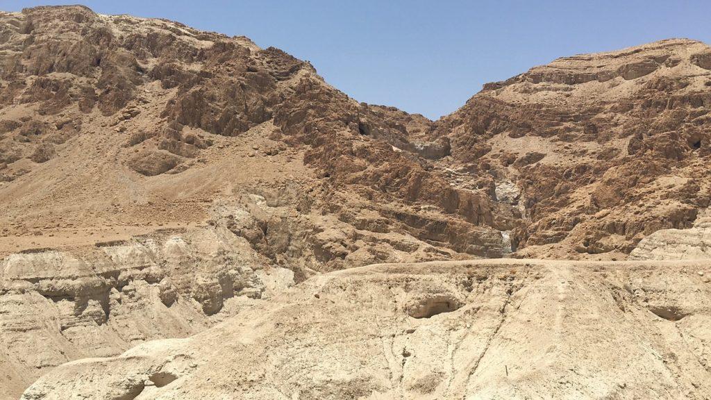 エルサレムの岩砂漠