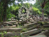 アンコール遺跡群のベンメリア