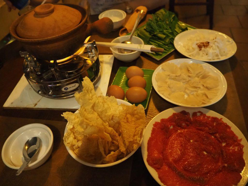 シェムリアップのレストラン、スープ・ドラゴン(The Soup Dragon)の料理、シュナンダイ