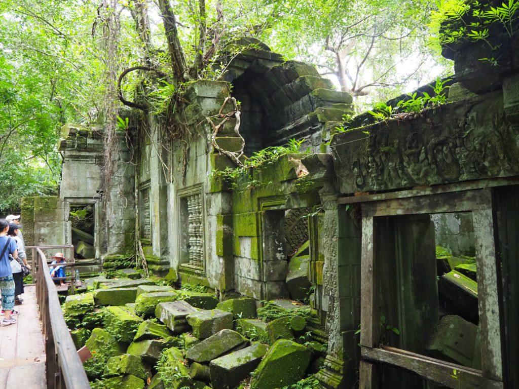 アンコール遺跡群のベン・メリア