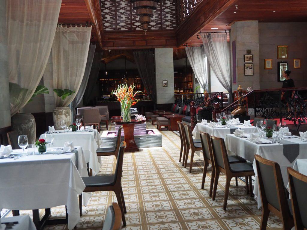シェムリアップのレストラン、マリス(Malis)の内装