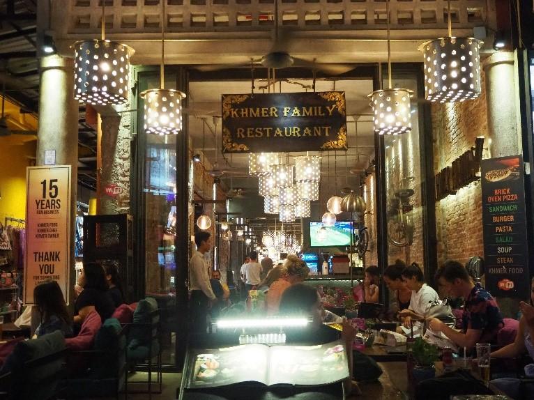 シェムリアップのレストラン、クメール・ファミリー(Khmer Family)