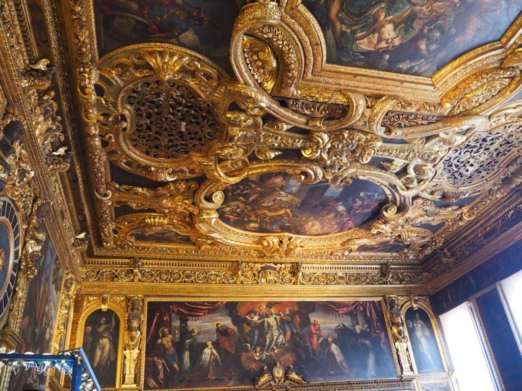 ドゥカーレ宮殿(Palazzo Ducale, Doge's Palace)の元老院の間(Sala del Senato)