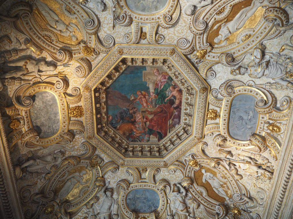 ドゥカーレ宮殿(Palazzo Ducale, Doge's Palace)の謁見控えの間(Anticollegio)