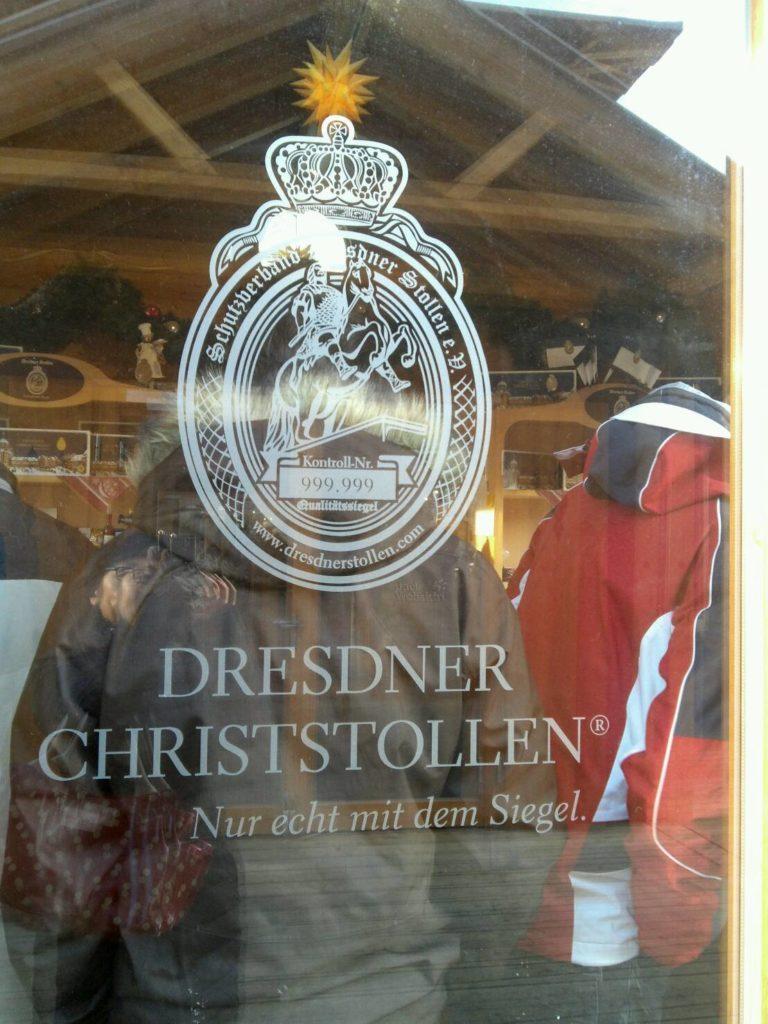 ドレスデン・シュトリーツェルマルクト((The Dresden Striezelmarkt)のクリスマスマーケットのシュトーレンのお店