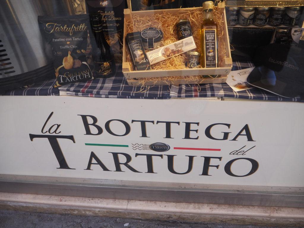 ヴェネツィアのトリュフ専門店、La Bottega del Tartufoの外観