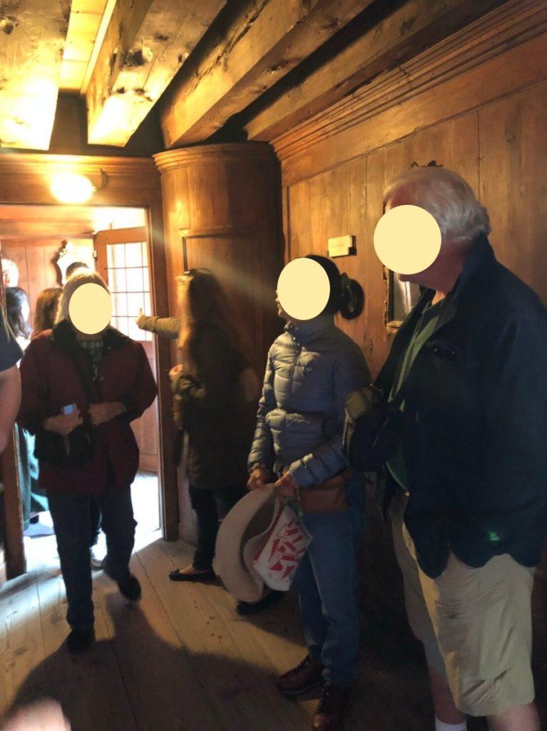 ドゥカーレ宮殿のシークレットツアーで見た質素な執務室