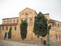 ムラーノ島のサンティ・マリア・エ・ドナート教会外観