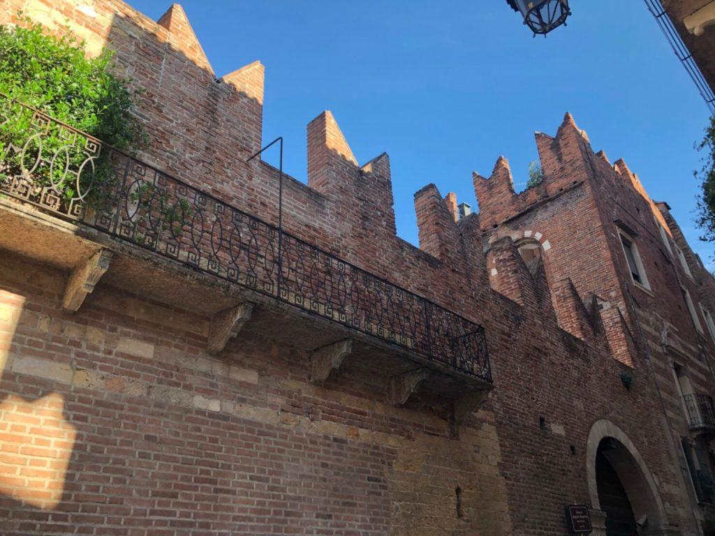 ヴェローナにあるロミオの家(Casa di Romeo)の外観