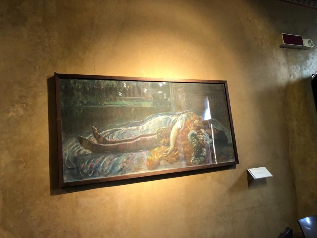 ジュリエットの家(Casa di Giulietta)の中の絵画