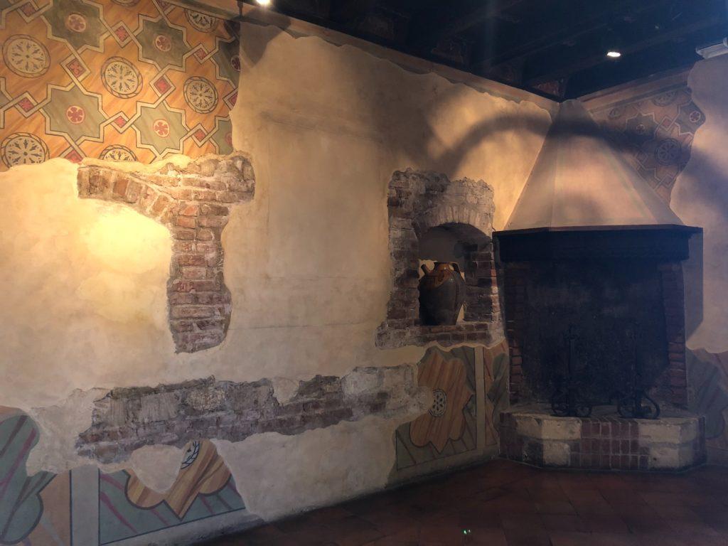 ヴェローナのジュリエットの家(Casa di Giulietta)の中の壁紙
