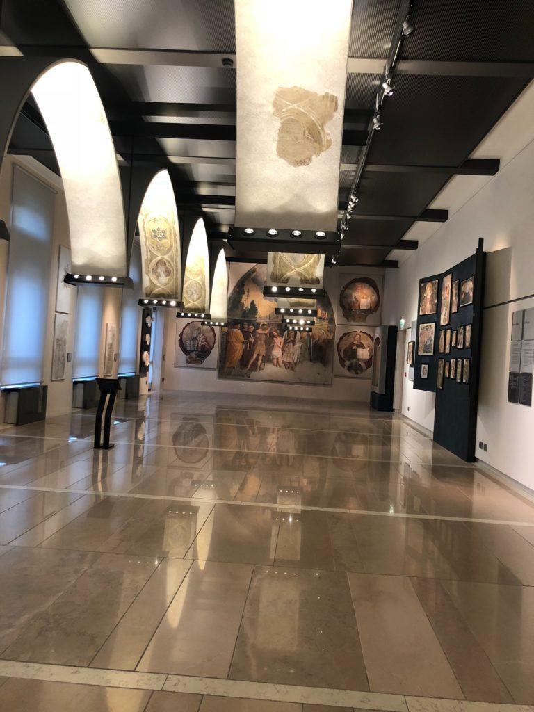 ジュリエットの墓(Tomba di Giulietta)に併設されているフレスコ画博物館