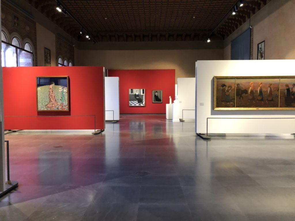 ヴェローナのアキッレ・フォルティ現代美術館(Galleria d'Arte Moderna Achille Forti)内部の様子
