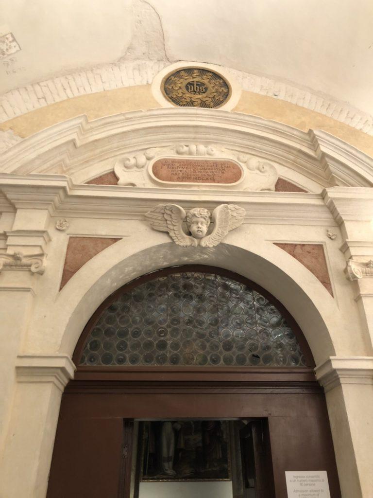 ヴェローナのアキッレ・フォルティ現代美術館(Galleria d'Arte Moderna Achille Forti)内の公証人の礼拝堂