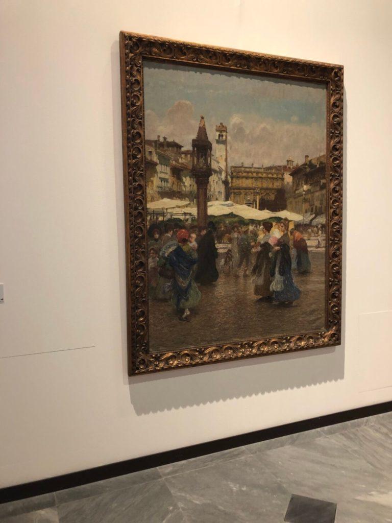 ヴェローナのアキッレ・フォルティ現代美術館(Galleria d'Arte Moderna Achille Forti)に展示されている当時のヴェローナの様子を描いた絵画