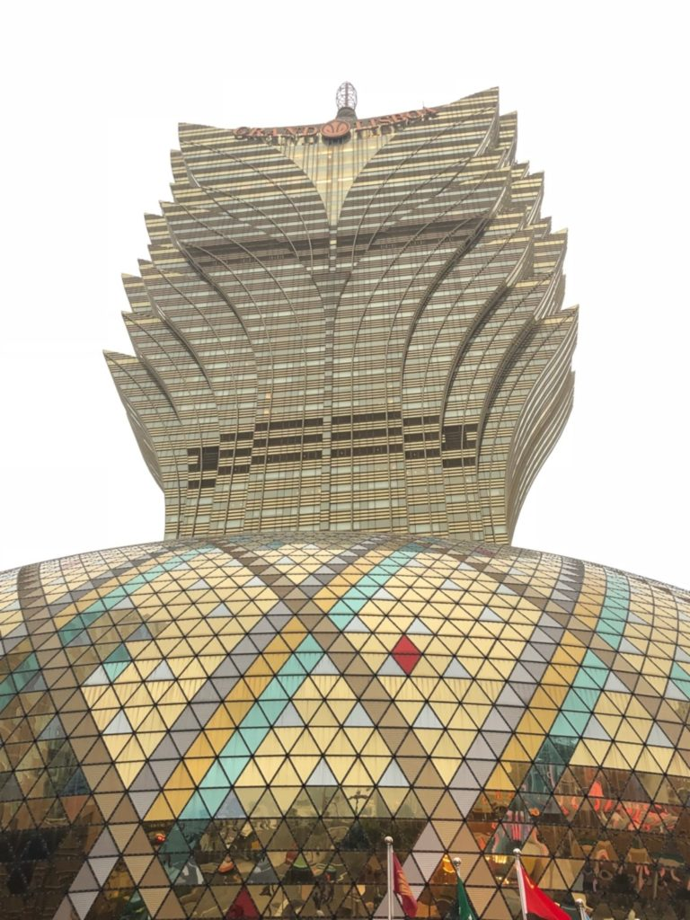 グランド・リスボア・マカオ(Grand Lisboa Macau)の外観