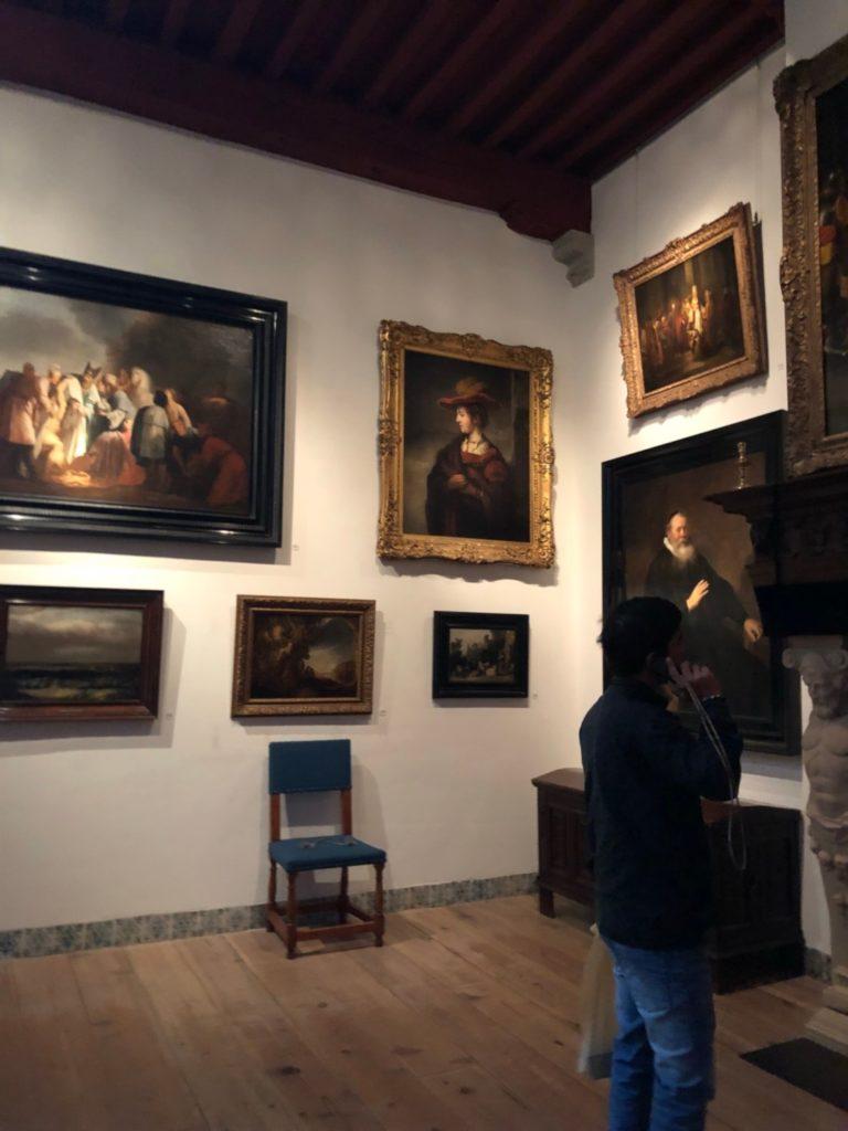 アムステルダムにあるレンブラントの家(Museum Het Rembrandthuis)のギャラリー