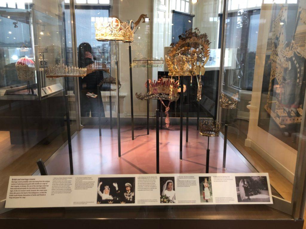 アムステルダムのダイヤモンド博物館(Diamant Museum)に展示されている、英国王室の冠