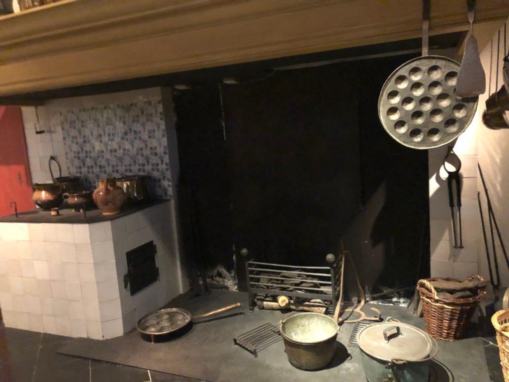 アムステルダムにあるレンブラントの家(Museum Het Rembrandthuis)のキッチン