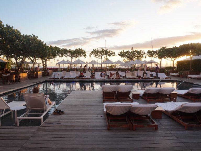 ハワイのホテル、The Modern Honolulu(ザ モダン ホノルル)のサンライズプール