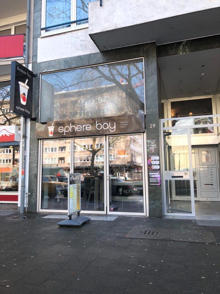 デュッセルドルフのSphere Bay Manga Teehausの外観
