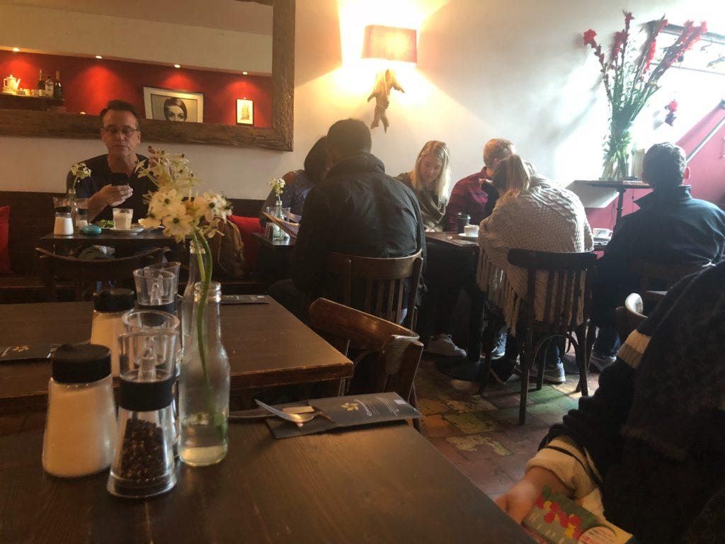 アムステルダムのGreenwoods Singel店内の様子